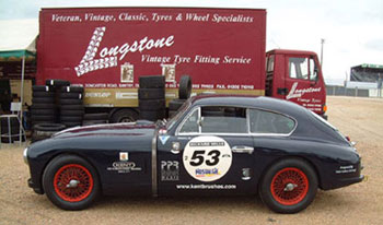 Aston Martin DB2/4 a Le Mans 2006